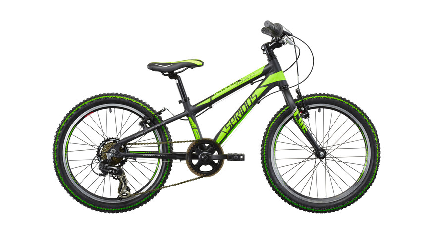"Serious Rockville 20"" black/green"